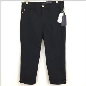 bcc8fd36072be NYDJ Jeans - NYDJ Ariel Women s Crop Capris Novelty Clasp
